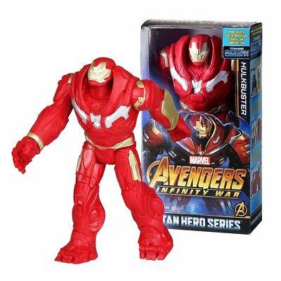 "Marvel Avengers Infinity War Titan Hero Series 12"" Hulkbuster Action Figures Toy"
