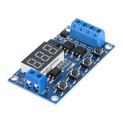 Dc Led 5-30v Relay Module Switch Trigger Time Delay Timer Cycle 12v 24v Digital