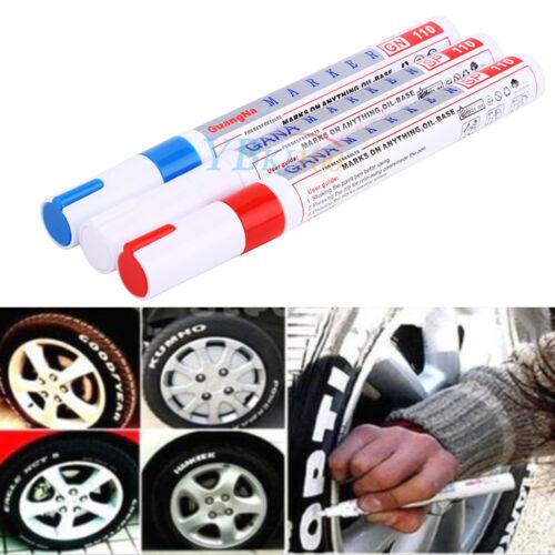 Pennarello Ritocco Auto Indelebile Per Battistrada Gomma PC Tyre Vernice Pen