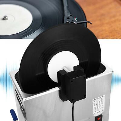 Vinyl Record Clean Rack Ultrasonic Cleaning Rack 630°/min 100-240V US Plug