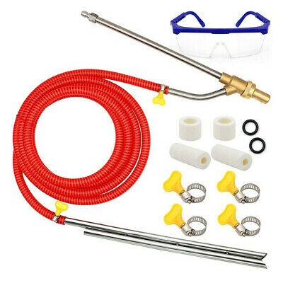 Pressure Washer Sandblasting-Kit Wet Sandblaster Attachment,5000 PSI 1/4 In