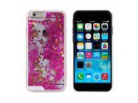 iPhone 7 Fallin glitter case