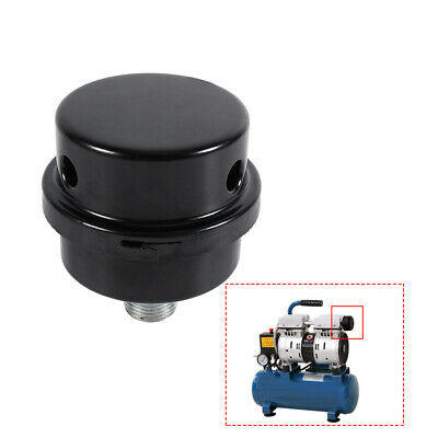 38 Thread Metal Air Compressor Intake Filter Noise Muffler Silencer 16mm Usa