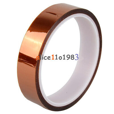 20mm 2cm X 30M 100ft Kapton Tape High Temperature Heat Resistant Polyimide