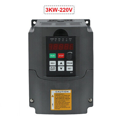 4hp 13a 3kw 220v Variable Frequency Drive Inverter Vfd Vsd Hq