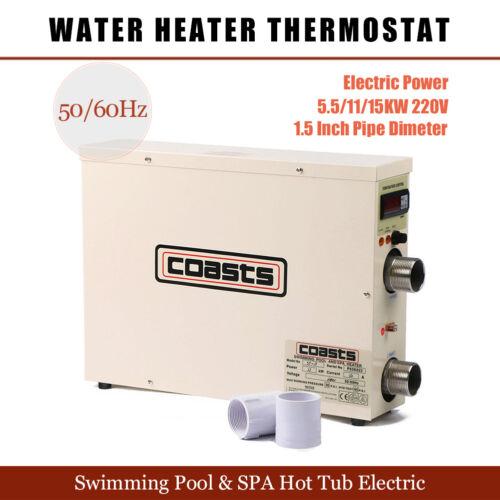 5 5 11 15kw 220v Swimming Pool Amp Spa Hot Tub Electric