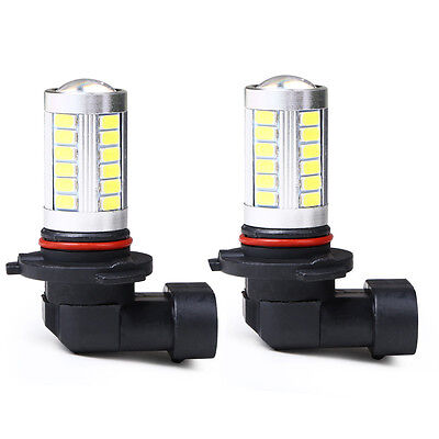 2x 9005 HB3 White 7000k Car Led Bulbs Replacement for Fog Driving Light Hot