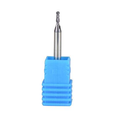 Ball Nose Carbide End Mill 1/8 inch Shank 2 Flute CNC Cutter Spiral Router Bits