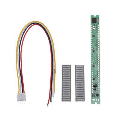 VU Meter Music Sound Audio Display Analyzer 32 LED Bars Level Indicator Newest