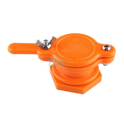 1pc Orange Honey Gate Valve Tool Tap Extractor Beekeeping Bottling Equipment Hb