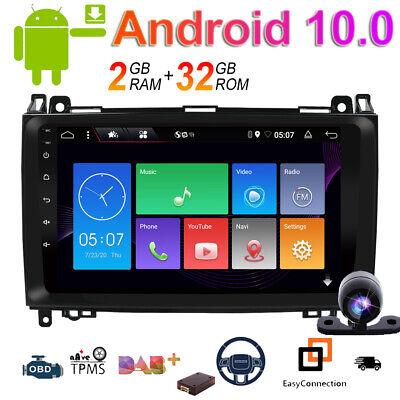 Autoradio GPS Navi Für Mercedes Benz A/B Klasse Sprinter Viano Vito W639 Android