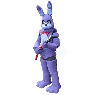 Five Nights At Freddy'S Mascot Purple Toy Bonnie Costume Carnival Festival Dress