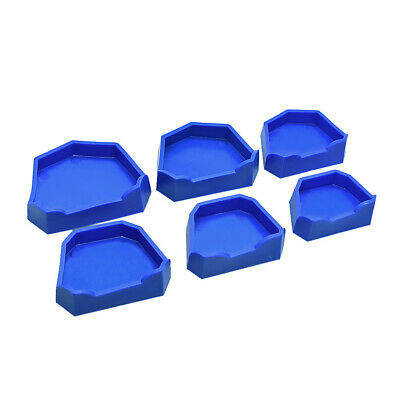 Lab Model Former Base Molds Blue Plaster Mould Tray Large Medium Small Dental