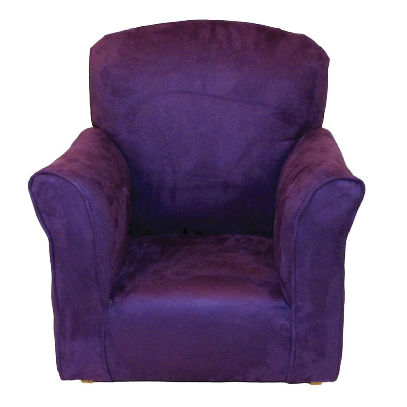 Purple Toddler Rocker - Microfiber Rocking Chair