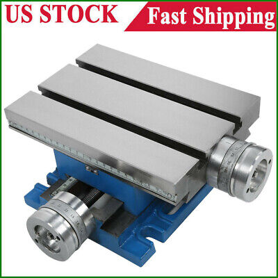 Milling Drilling Worktable Compound Cross Slide Multifunction Bench Table Usa