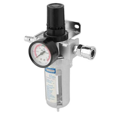Air Pressure 120psi Regulator Water Separator Trap Filter Airbrush Compressor