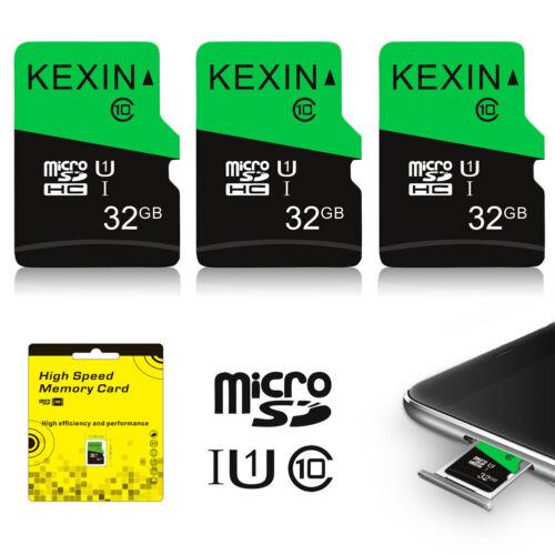 3pack 32gb micro sd tf card sdxc