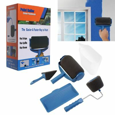 6Pcs/Set DIY Paint Runner Pro Roller The Renovator Pintar Facil Painting Kit DE - Paint Roller Kit