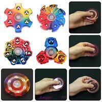 Tri-spinner Fidget Toy Ceramic Edc Toy Hand Finger Spinner Desk Stress Kids Gift - unbranded - ebay.co.uk