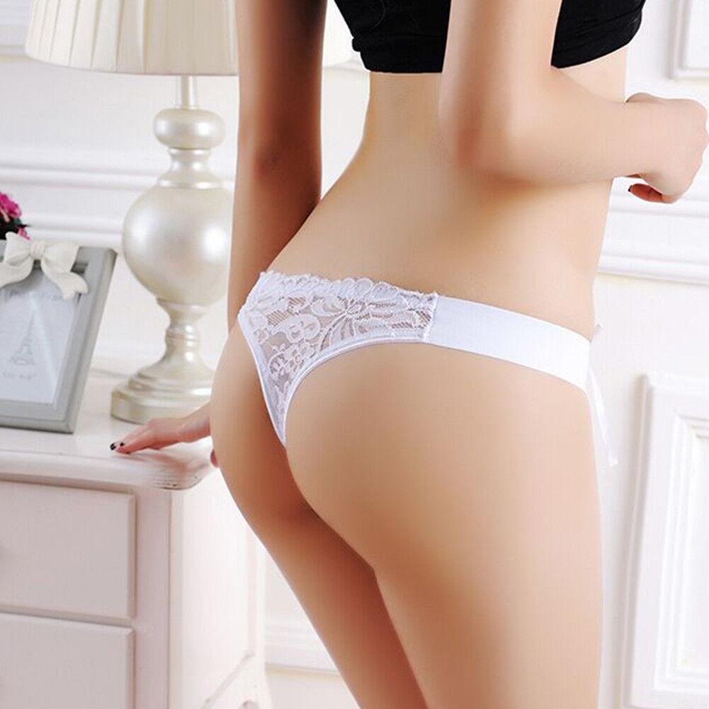 Sexy Damen G-String Spitze Panty Tanga Slips Höschen Unterwäsche Dessous Panties