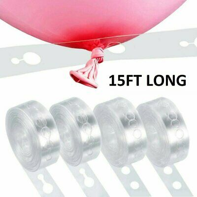 5m Balloon Chain Tape Arch Connect Strip for Wedding Birthday Party Decoration Balloons