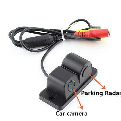 2 in 1 Car Night Vision Camera Reverse Backup & Parking Radar 120
