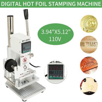 Wt-90ds 10x13cm Manual Hot Foil Stamping Machine Digital Display 110v 400w