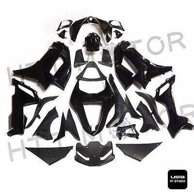 njection Molding Fairing Bodykit For Kawasaki 2007-2008 ZX 6R 600 Gloss Black