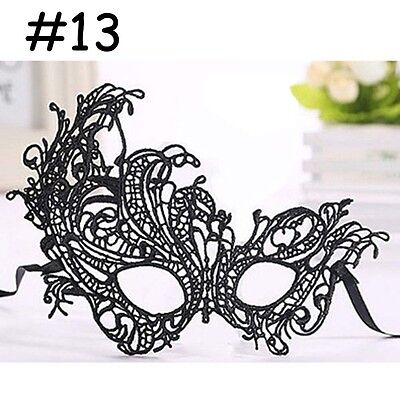 Masquerade Ball Dresses For Halloween (NEW Lace Mask For Halloween Masquerade Ball Party Fancy Dress Costume #13)