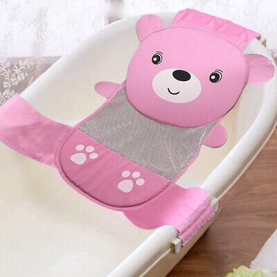 Adjustable Thicken Newborn Baby Bath Seat Support Net Bathtub Sling Shower Mesh