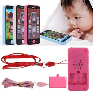 Baby Simulator Music Phone Touch Screen Kid Children Educational Learning Toys
