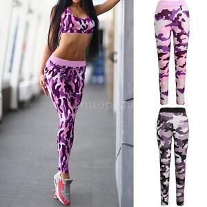 Unique Womens Camouflage Clothing Plus Size Yoga Pants Sweat Pants Cheap