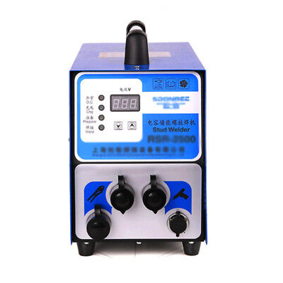 M3-m10 Studs Capacitor Discharge Studs Welder Bolt Plate Welding Machine 220v
