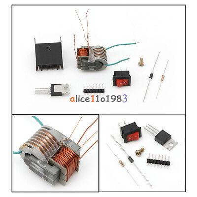 Dc High Voltage Generator Inverter Electric Ignitor 15kv 18650 Battery Diy Kit