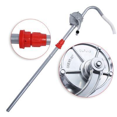 Rotary Hand Crank Oil Barrel Drum Pump Pumping Diesel Fuel 70rpm