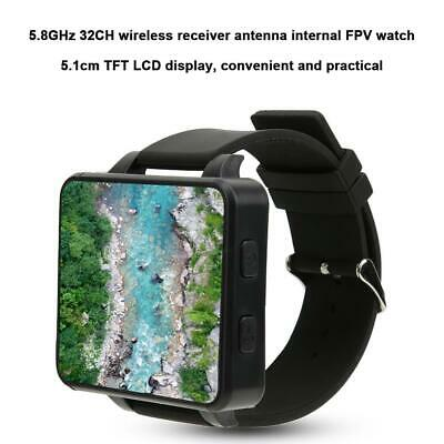 In Stock FPV Watch 5.8GHz 32CH TFT Monitor Wireless RC Drone Receiver for Plane