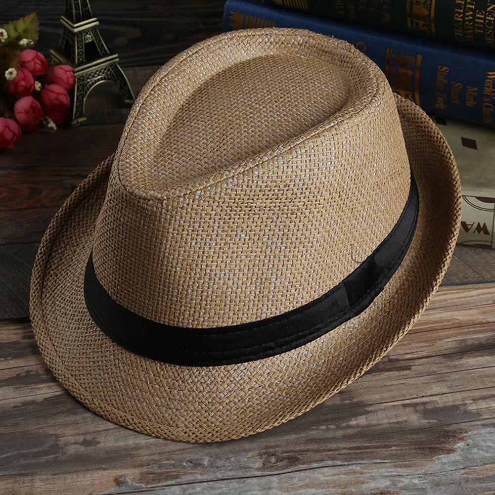a499641bbc3 UK Panama Hat Straw Hat Trilby Garden Hat Summer Hat Beach Hat Women Men  Ladies