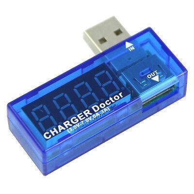 USB Charger Doctor Mobile Battery Tester Power Detector Voltage Current Meter DT
