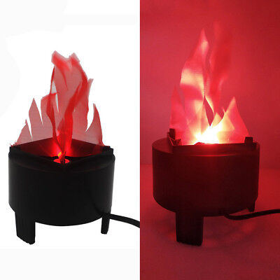 Portable Electronic LED Fire Flame Simulated Flame Effect Light for Night Club Y