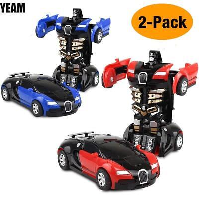 Toys For Boys Robot Car Kids Toddler Robot 3-9 Year Old Age Cool Toy (Two - Cool Toy Cars