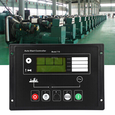 Lcd Display Generator Controller Start Control Panel For Diesel Generator Dse710