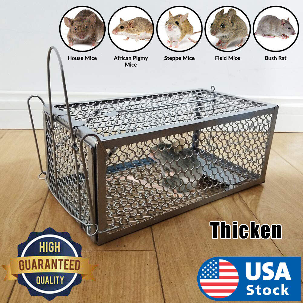Rodent Animal Mouse Humane Live Trap Hamster Cage Mice Rat Control Catch Bait Animal & Rodent Control