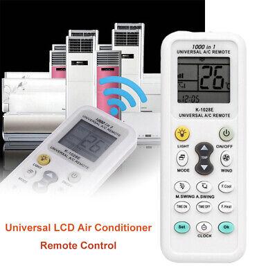 K-1028E English Universal LCD Air Conditioner Remote Control A/C Controller Fine (Air Conditioner Remote Control)