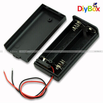 2a 2 Aa Battery Holder Box Case With Onoff Switch And Cover For 2aa Battery
