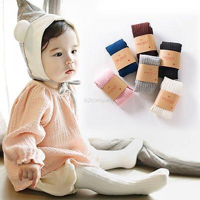 Baby Toddler Infant Kids Girls Cotton Warm Pantyhose Socks Stockings Tights 0-5Y