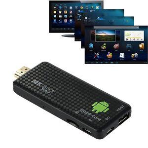 MK809IV HDMI Smart TV Dongle Box Stick 1080P 3D Android 4.4 Mini PC Quad Core 8G