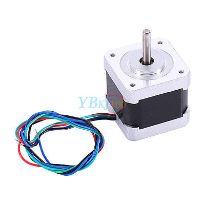 Nema 17 Stepper Motor 2 Phase Cnc Robot Reprap Makerbot Prusa 3d Printer
