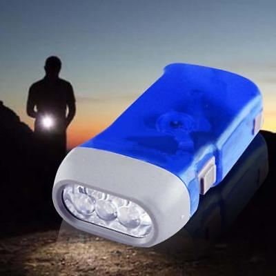 Squeeze Torch (Self Generating Squeeze Flashlight Torch Emergency light envioronmental Blue)