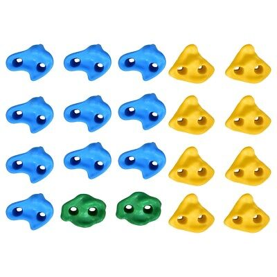 New Textured Climbing Holds Rock Wall Stones Holds Grip For Kid Indoor Outdoor