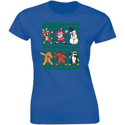 Christmas T Shirts With Lights (Nice Christmas Dabbing Cartoon design with Christmas lights T-shirt for)